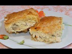 Επεισόδιο 97-Κοτόπιτα-Chicken pie - YouTube Happy Foods, Spanakopita, Greek Recipes, Apple Pie, Mashed Potatoes, Yummy Food, Snacks, Meals, Breakfast
