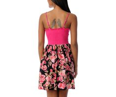 #summerdress pink floral dress for hot summer nights.