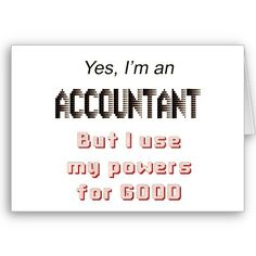 Accounting Humor. No really though!