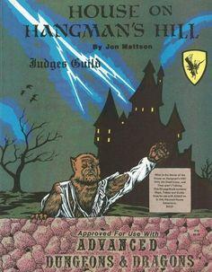 AD&D: House on Hangman's Hill ~ Judges Guild (1981)