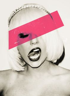 black, fashion, gaga, lady gaga, pink #MotherMonster #LadyGag