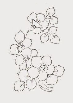 flores silvestres para pintar #bordar