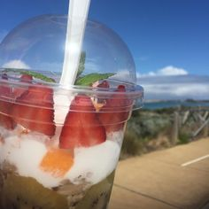 Great day for a paleo parfait from @govitawarrnambool #govita3280 #eat3280 #love3280 #warrnamboolbeach #blueskies #warrnamboolcafe #warrnambool #paleo #live3280 #shop3280 by destinationwarrnambool