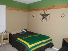 john deere room i love how the boarder isnt so overwhelming