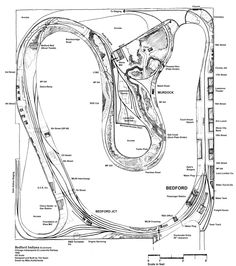 Model railroad track plan sketches...