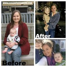 Sugar Free/Low Carb Weight Loss Before and After Pics