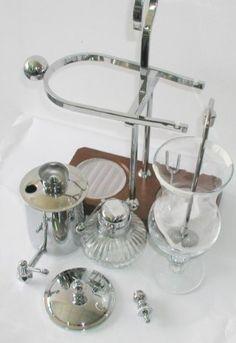 Royal Belgian Balancing Siphon Coffee Maker - Chrome - http://teacoffeestore.com/royal-belgian-balancing-siphon-coffee-maker-chrome/