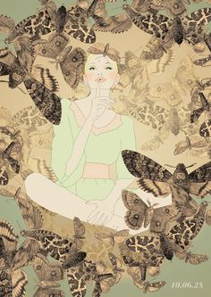 Girls girls girls by Sushi Bird, via Behance