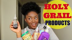 My HOLY GRAIL Natural Hair Products + Mini HAUL