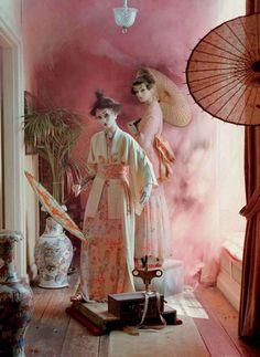 Tim Walker's Mechanical Dolls for Vogue Italia October 2011