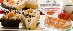 Pumpkin Pie Quest Good Protein Foods, Best Protein, Protein Bars, High Protein, Bariatric Recipes, Diet Recipes, Quest Nutrition, Quest Bars, Just Shop