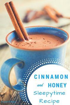 Banana Cinnamon Tea, Honey And Cinnamon, Ceylon Cinnamon, Raw Honey, Insomnia Remedies, Natural Sleep Remedies, Snoring Remedies, Natural Sleep Aids, Drink Recipes