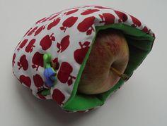 week 7 ; appelzakje patroontje van Hilde@home.Blijft leuk om te doen.Pin staat op mijn bord uitgeteste patronen
