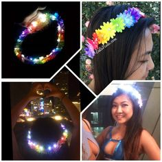 For more pictures, check out our Instagram @lalanalashop    These handmade, custom flower crowns will make you stand out in the crowd!  Great for EDC,