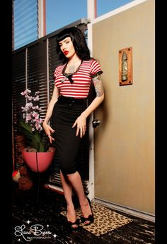 Pirate dress by Deadly Dames