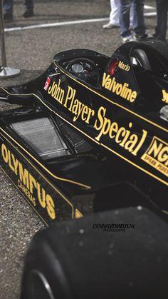 Classic Race Cars, Classic Trucks, Ferrari, F1 Lotus, Mario Andretti, Car Brochure, Formula 1 Car, F1 Drivers, F1 Racing