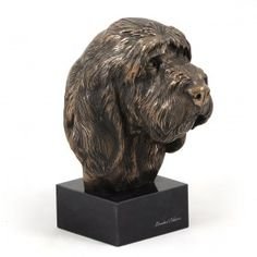 Highest class handcrafted product from list Figurines associated with dog breed Grand Basset Griffon VendéenGrand Basset Griffon Vendeen, Marblebase - Cold Cast Bronze - Limited EditionOrigin:Statue from ART-DOG collection. Art-Dog is Polish company maki Dog Lover Gifts, Dog Lovers, Grand Basset Griffon Vendeen, Best Artist, Dog Supplies, Sculpting, Marble, Lion Sculpture, It Cast