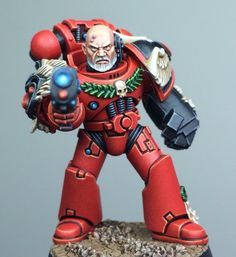 Blood Angel Sergeant by Paul Norton courtesy of 'Eavier Metal via Facebook.