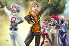 Team Valor, Mystic, or Instinct? Nah. Team ROCKET! And sorry, I just see this for Spark. I had to paint it. Plus what an excuse to draw Team Rocket! (This was suppos...