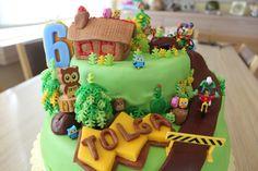 Tolga 6 yaş pastası