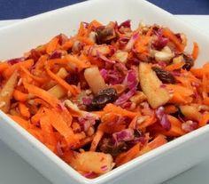 cinnamon raisin carrot salad – Daniel Fast reci