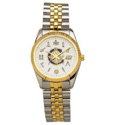 Pedre Men's Masonic Series Classic Working Tools Two Tone Watch Pedre. $85.00