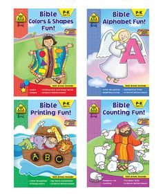 Love this Bible Colors & Shapes Activity Book Set by School Zone on #zulily! #zulilyfinds