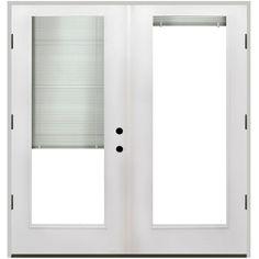 Fiberglass Sliding Doors With Blinds