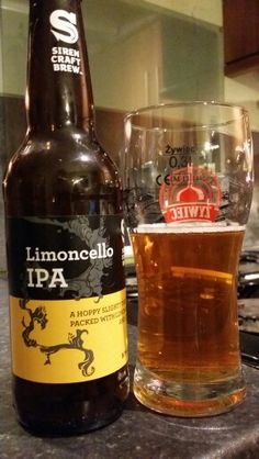 Siren Limoncello IPA By Siren Craft Brew, Mikkeller & Hill Farmstead…
