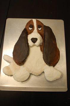 Basset Hound cake
