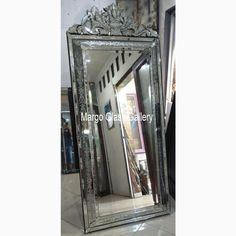 Venetian Mirror Stand Floor Razel MG 001144 Bubble Pack, Distressed Mirror, Vertical Or Horizontal, Carton Box, Standing Mirror, Venetian Mirrors, Bubbles, Mirror Glass, Flooring