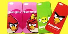 48% off Authentic Angry Bird Hard Case for iPhone 4/4S/5 & Samsung Galaxy S3 – 10 Designs Available (Free Delivery via Normal Postage)