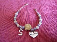 Flower Girl Bracelet, Flower Girl Gifts, Flower Girl Present, Flower Girl Jewelry, Flower Girl Jewellery, Swarovski Flower Girl Bracelet