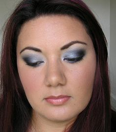 Smokey eye.  Start with blue or silver or pink, then blend to black!