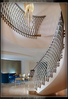 WOW!!!! Dorchester Hotel staircase