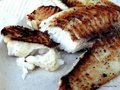 Grilled Lemon Butter Tilapia from 101 Cooking For Two