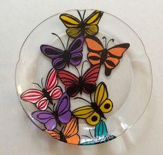 Make a Glass Plate Suncatcher