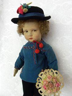 "Darling All Orig 17 1 2"" Early Lenci Boy 300 Series in Regional Costume C 1920s | eBay"
