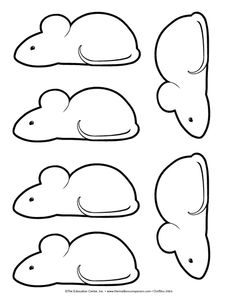 mouse paint template
