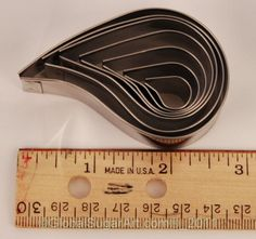Plain Comma Cutters Set of 7 by Ateco  I figure these can be used for fondant flames