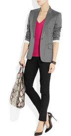 Stella McCartneyIris tailored wool-twill blazer