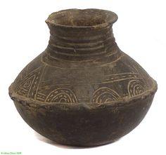 Makonde Clay Vessel Tanzania Pottery