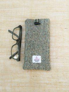Handmade Genuine Harris Tweed Glasses Case by JustSewYorkshire
