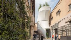SO-IL imagines a future of sustainable city living with air-filtering MINI Living house Breathe, Milan Design Week 2017, Sustainable City, Sustainable Living, Zaha Hadid Architects, Living Environment, City Living, Living Spaces, Exterior Design