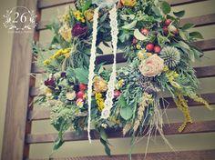 fotogalerie – Květinový Ateliér 26 Ladder Decor, Floral Wreath, Wreaths, Home Decor, Atelier, Floral Crown, Decoration Home, Door Wreaths, Room Decor