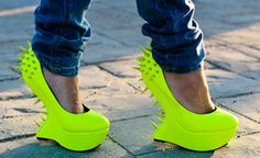 Patricia Varela: Neon Shoes #Lockerz