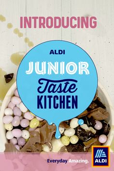 We let the kids take over the Kitchen key. Tap to track the mess. We've let the kids take over the Taste Kitchen. Tap to watch the mess. We've let the kids take over the Taste Kitchen. Tap to watch the mess. Aldi UK - Cartoon Videos Kids For 2019 Healthy Meals For Kids, Kids Meals, Easy Meals, Easter Recipes, Dessert Recipes, Easter Ideas, Desserts, Fun Cooking, Cooking Recipes