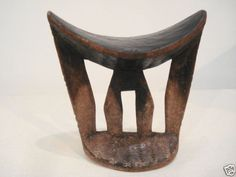 Superb-Old-African-Wooden-Carving-KAMBATTA-Headrest-Africa-Ethiopia