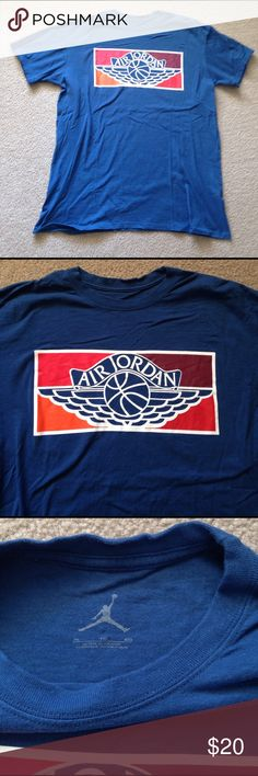 Men's Air Jordan Tshirt Men's Air Jordan Tshirt. 100% cotton Jordan Shirts Tees - Short Sleeve