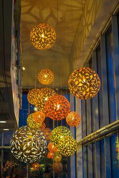 Floral by David Trubridge at Radisson Blu Uppsala, Sweden